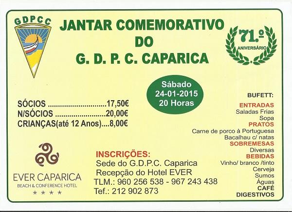 Impresso do jantar GDPCC