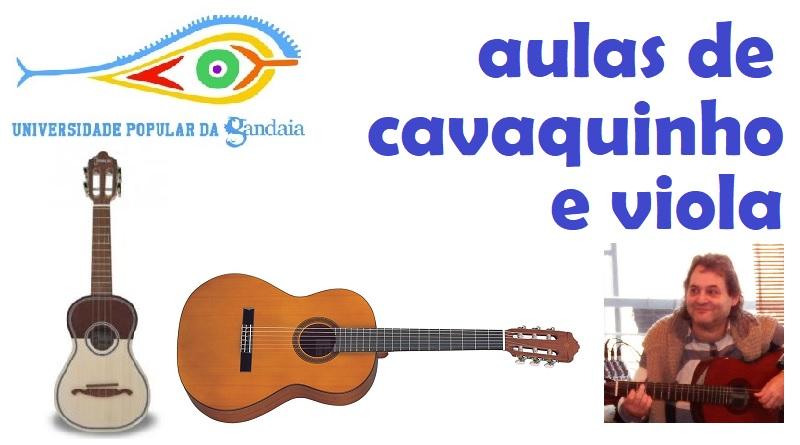 Aulas de Cavaquinho e Viola