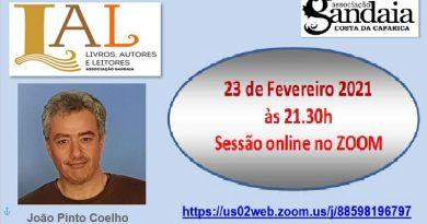 João Pinto Coelho Conversa na Gandaia